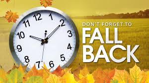 Daylight Saving Time- Fall 2017