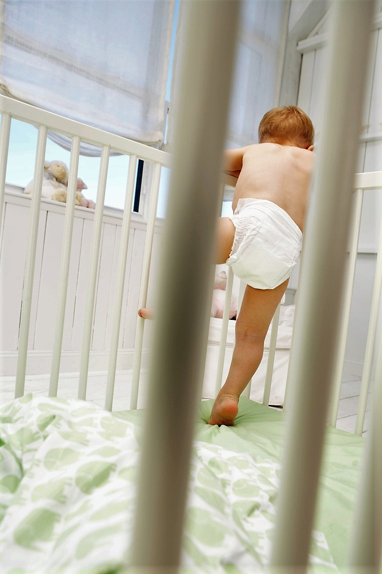 Climbing out of the Crib